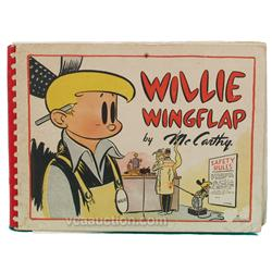 Willie WingFlap Comic Book By McCarthy