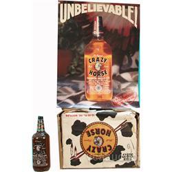 Box Of Crazy Horse Malt Liquor 12 - 40 oz. Bottles In O