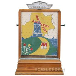 """1 Cent """"Windmill"""" Coin Drop Wooden Countertop Game, Exc"""