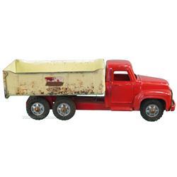 "Buddy 'L' Heavy Hauling Pressed Metal Dump Truck - 21"""