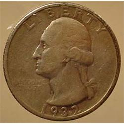 1932-D WASHINGTON QUARTER - See Pics to Grade