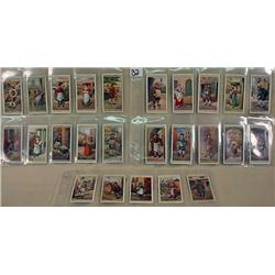 SET OF 25 VINTAGE CIGARETTE CARDS - LONDON TOWNS,