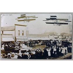 RPPC REAL PHOTO POSTCARD PARADE SCENE - DOW CITY,
