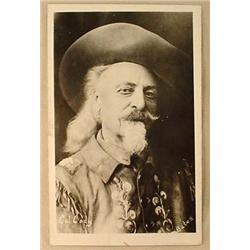 RPPC REAL PHOTO POSTCARD BUFFALO BILL CODY - PHOTO