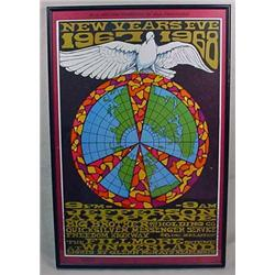 1967-68 BILL GRAHAM JEFFERSON AIRPLANE NEW YEARS C