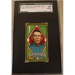 1911 T205 FRED PAYNE PIEDMONT CIGARETTE CARD SCG 3