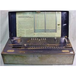 THE MILLIONAIRE CALCULATING MACHINE - FIRST MULTIP
