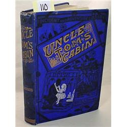 """1887 """"UNCLE TOM'S CABIN"""" HARDCOVER BOOK BY HARRIET"""