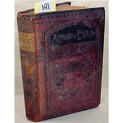 """C. 1870'S """"THE PICKET LINE"""" HARDCOVER BOOK BY A ME"""