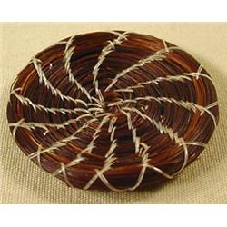 VINTAGE PAPAGO INDIAN HORSE HAIR BASKET - APPROX.