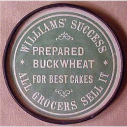 VINTAGE ADVERTISING POCKET MIRROR - WILLIAMS SUCCE