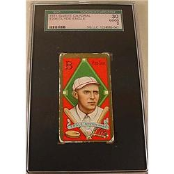 1911 T205 CLYDE ENGLE SWEET CAPORAL CIGARETTE CARD