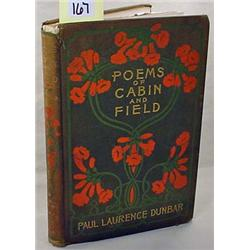 "1899 ""POEMS OF CABIN AND FIELD"" HARDCOVER BOOK BY"