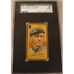 1911 T205 JOHN PFEISTER SWEET CAPORAL CIGARETTE CA