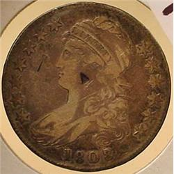 1808 BUST HALF DOLLAR - See Pics to Grade