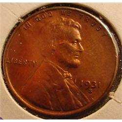 1931-S LINCOLN CENT / PENNY - See Pics to Grade