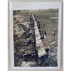 WW1 OFFICIAL PHOTOGRAPH R.A.F. SCOUTING SQUADRON W