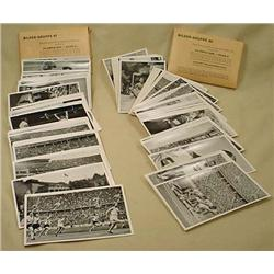 LOT OF 2 1936 GERMAN OLYMPICS CARDS FOR CIGARETTE