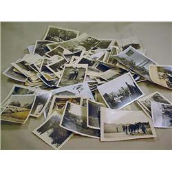 LOT OF APPROX. 100 WW2 NAZI GERMAN PHOTO FROM PRIV