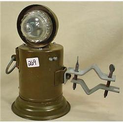 WW2 MILITARY MOTORCYCLE / BIKE FLASHING LIGHT W/ B