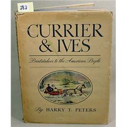 """1942 """"CURRIER AND IVES PRINTMAKERS TO THE AMERICAN"""