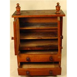 """WOODEN DOLL DRESSER - Approx. 8"""" by 4"""" by 12"""""""