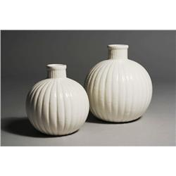 Two Tiffany and Co. Porcelain Jars.