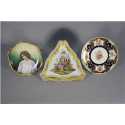 A Royal Doulton Cabinet Plate Painted by C. Dean,