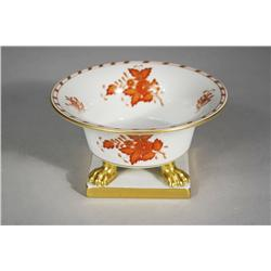 A Herend Porcelain Footed Dish.