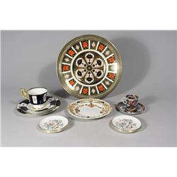 A 10.5 in. Royal Crown Derby English Bone China Plate,
