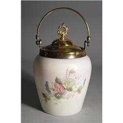 A Victorian Biscuit Jar.