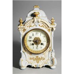 A French Porcelain Mantle Clock.