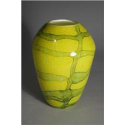 A Murano Style Art Glass Vase, Unmarked.