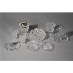 A Collection of Nine Pieces of Lalique.