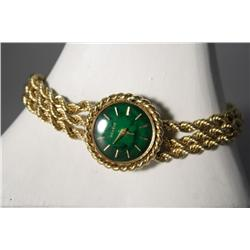 A 14 kt. Rope Mesh Geneve Watch.