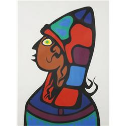 Morrisseau Norval (Ojibway, 1931-2007) Prodigal Son, Lithograph,