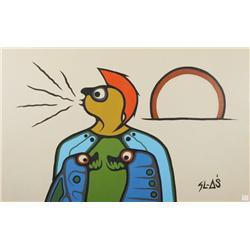 Samuel Ash (Canadian, b.1951) SL-AS, Lithograph.