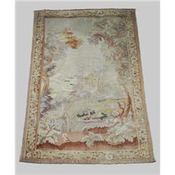 A French 19th Century Tapestry.