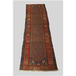 An Antique North West Persian Runner.