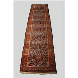 An Antique Persian Malayer Wool Runner.