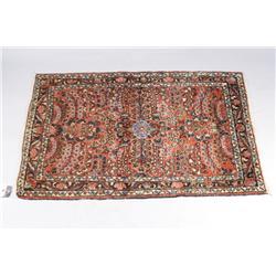 An Antique Persian Daragazine Wool Rug.