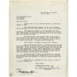 Montgomery Clift and Howard Hawks signed agreement for Red River