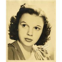 Judy Garland vintage portrait signed
