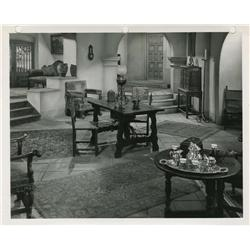 Collection of master production set stills from Black Bart, Casbah and River Lady