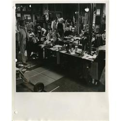 Collection of master production set stills from The Front Page