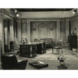 Collection of master production set stills from You Can't Cheat an Honest Man and The Bank Dick