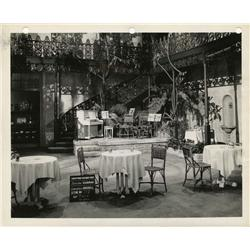 Master production set and costume sketch stills from Christmas Holiday and Can't Help Singing