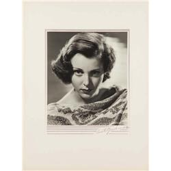 Frances Dee exhibition portrait from The Silver Cord by Ernest A. Bachrach
