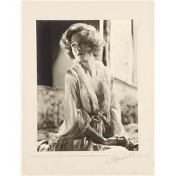 Gwili Andre exhibition portrait from Roar Of The Dragon by Ernest A. Bachrach
