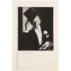 Fred Astaire exhibition portrait from Gay Divorcee by Ernest A. Bachrach